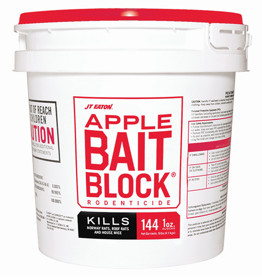 Picture of Bait Block Apple Flavor Rodenticide (9-lb. pail)