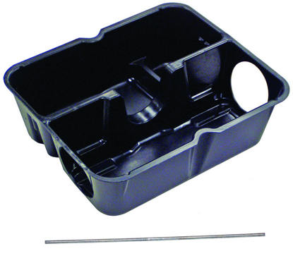 Picture of Strongbox Galvanized Steel Tamper-Resistant Bait Station Liner and Rods (12 count)