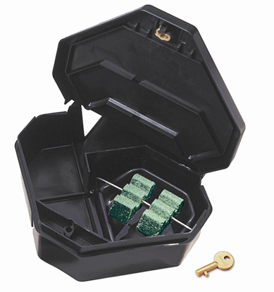 Picture of Gold Key Rat Depot Plastic Tamper-Resistant Bait Station (1-count)