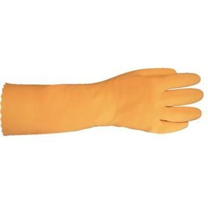 """Picture of Gloves, Heavy Duty Rubber 14"""""""
