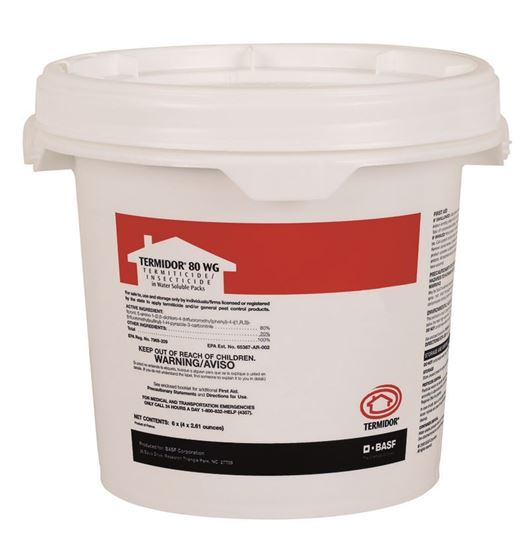Picture of Termidor 80 WG Termiticide/Insecticide (6 x 4 x 2.61-oz. bucket)