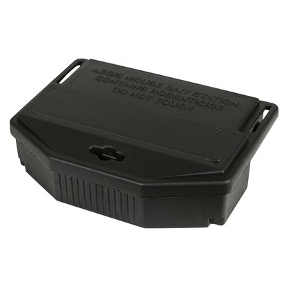 Picture of Aegis Mouse Bait Station - Black Lid (12 count)
