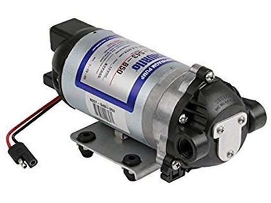 Picture of 8000 Series Diaphragm Pump Bypass Pump with Switch (12 VDC)