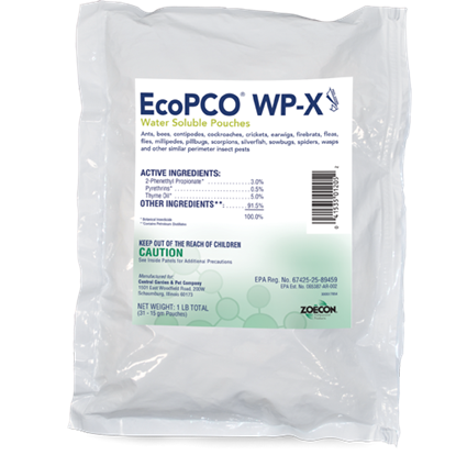 Picture of EcoPCO WP-X Water Soluble Pouches
