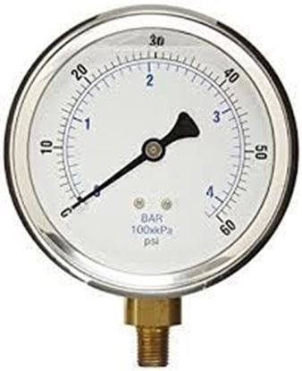 Picture of Gauge, Glycerin Filled (0-60)