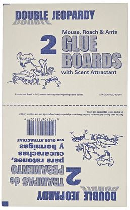 Picture of Double Jeopardy Glue Boards - Banana Scent