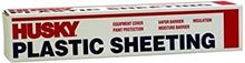 Picture of Husky Plastic Sheeting - 4 Mil - Clear (12 ft. x 100 ft.)
