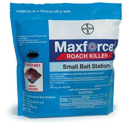 Picture of Maxforce Roach Killer Small Bait Stations (72 x 0.05-oz. stations)
