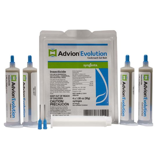 Picture of Advion Evolution Cockroach Gel Bait Insecticide