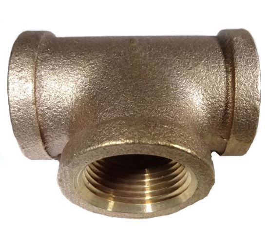Picture of Couplings Company Female Pipe Tee - Brass