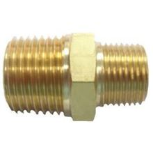 Picture of Couplings Company 112RFE Hex Pipe Nipple Reducing - 1/2 in. x 3/8 in.