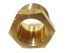 Picture of Couplings Company 110E Pipe Hex Bushing - 3/4 MPT x 1/8 FPT