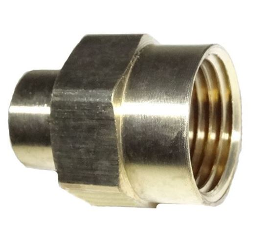 Picture of Couplings Company 119FC Reducer Pipe Coupling - 1/2 in. x 1/4 in.