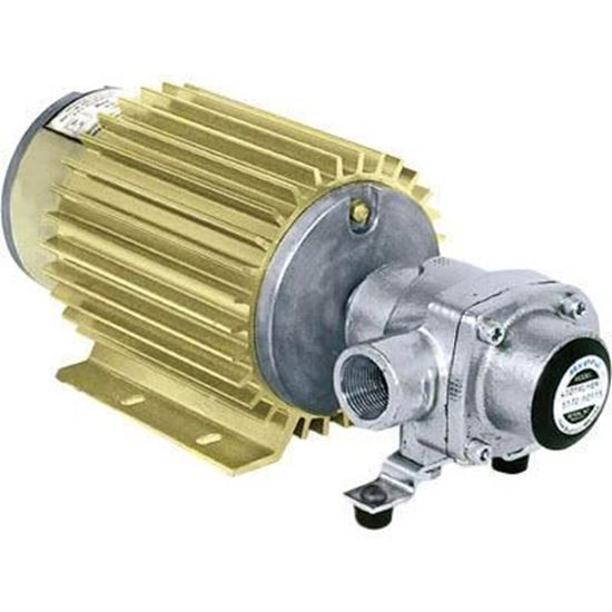 Picture of 4001 Series 4 Roller Pump - Silvercast with 12 volt DC Monitor