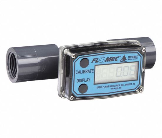 Picture of Turbine 1/2 FNPT Electronic Flowmeter
