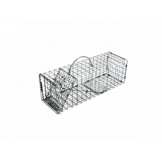 Picture of Tomahawk  Chipmunk, Rat, Small Squirrel Trap with One Trap Door (16 in. x 5 in. x 5 in.)