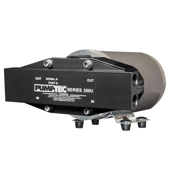 "Picture of Pump Motor Set, 350U-150/M130-8, 12V, Viton, M-Valve, 4-3/8"" Port, BD Gold"