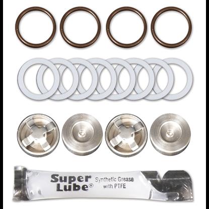 Picture of Valve Repair Kit, Kit-B, Valve & Seals, 112T,112V,113C, 212T,217V,348U,350U,356U, M-Valve, Viton