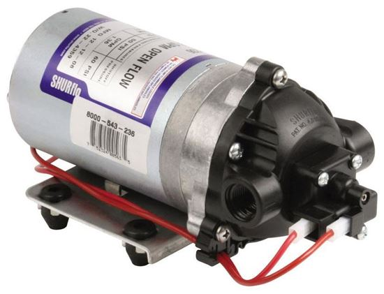 Picture of Shurflo 8000 Series - 8000-543-236 12VDC Standard Pump