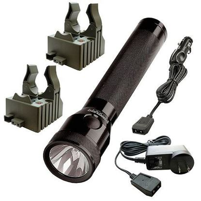 Picture of Streamlight Stinger with 2 120V AC/DC Steady Chargers (NiCd)
