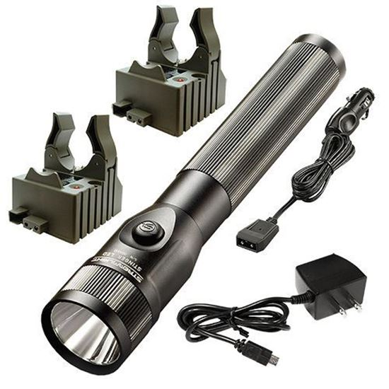 Picture of Streamlight Stinger LED with 120V AC/12V DC Chargers