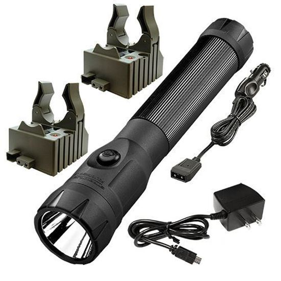 Picture of Streamlight PolyStinger LED with 120V AC/12V DC Chargers