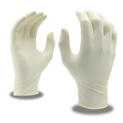 Picture of Disposable Powdered Latex Gloves - L (100 count)