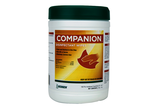 Picture of Companion Disinfectant Wipes